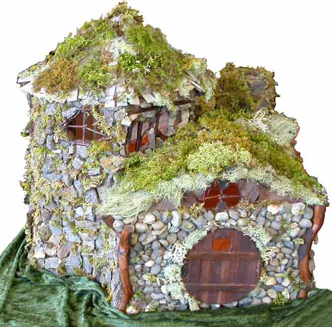 Fairy shack houses and fairy garden accessories for Build your own castle home