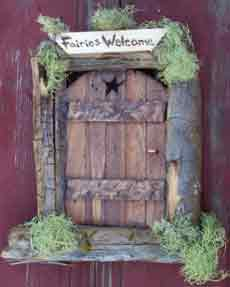 Fairy Star Door in Fairy Garden