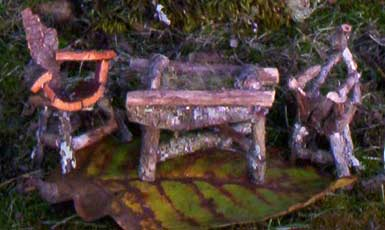 Fairy Furniture Table And Chairs